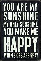 """木製Mailable postcard- """" You are my sunshine、My Only Sunshine """""""