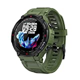 COSULAN Sport Smart Watch for Men, Fitness Tracker Bracelet with Bluetooth Calling/Music Play/Heart Rate/Blood Pressure/SpO2 Monitor/Sleep Tracker/Physiological Cycle Reminder/iOS&Android App (Green)