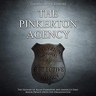 The Pinkerton Agency audiobook cover art
