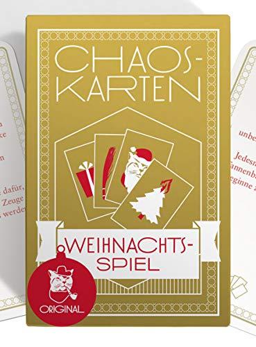 Chaoskarten Weihnachtsspiel, das Original, mit 51 Missionen