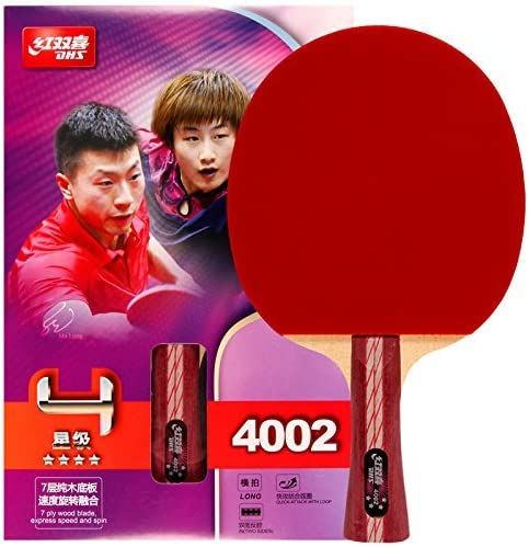 DHS Just Model Table Tennis Racket #A4002, Ping Pong Paddle, Table Tennis Racquets - Shakehand