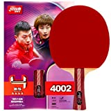 DHS Table Tennis Racket 4002, Ping Pong Paddle, Table Tennis Racquets - Shakehand with LANDSON Rubber...