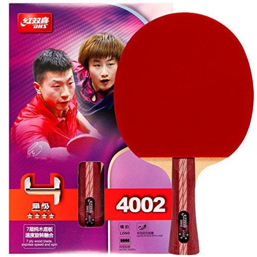 DHS Tischtennisschläger A4002, Ping-Pong Paddel Shakehand