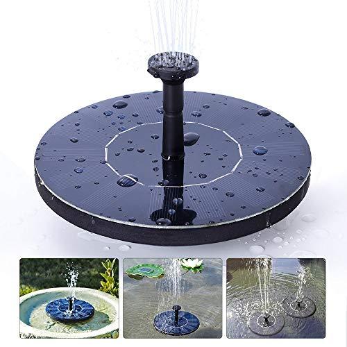 huainiu - Springbrunnen für Gartenteiche in Schwarz, Größe Small