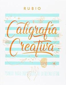 Libro de caligrafia rubio creativa Con 150 paginas Tapa dura Tamaño de 27x21 cm