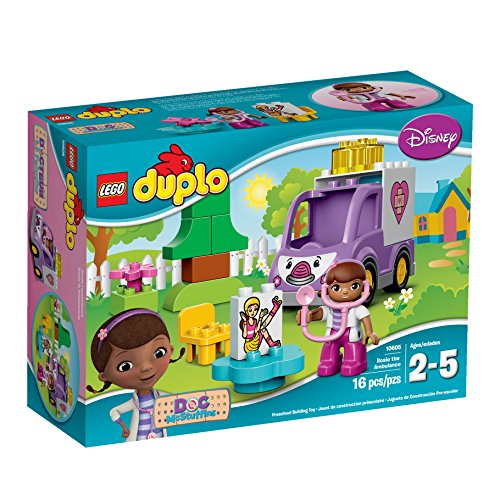 LEGO Duplo Brand Disney 10605 Doc McStuffins Rosie The Ambulance Building Kit by