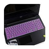Schutzhülle für Laptop aus Silikon für DELL Latitude 15 3500 3550 3560 3570 3580 3590 15,6 Zoll, Violett