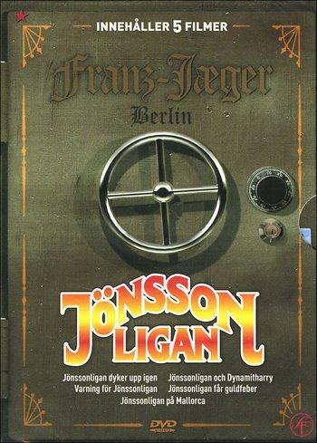 Jönssonligan Box: Varning För Jönssonligan + Jönssonligan & DynamitHarry + Jönssonligan Får Guldfeber + Jönssonligan Dyker Upp