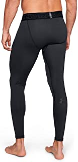 Under Armour Men's ColdGear Leggings, Black/Charcoal