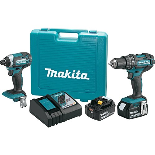 Makita XT261M 2 Piece 18V Lithium-Ion 4.0 Ah Cordless Combo Kit