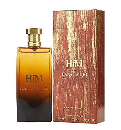HM by Hanae Mori Eau de Parfum Spray Fragranza da Uomo, Citrusy e Woodsy Profumo è potente, puro e invitante, 100 ml