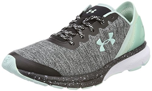 Under Armour 3020005-002_36, Running Shoes Mujer, Grey, EU