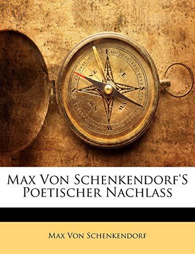 Von Schenkendorf, M: GER-MAX VON SCHENKENDORFS POET