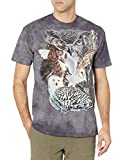 The Mountain Find 11 Owls Adult T-Shirt, Grey, Large
