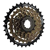 AJO CS-HG20-7 Index 12-28 / 32T Tornillo de Bloque de Rueda Libre de Bicicleta en piñón de Casete, piñón de Rueda Libre de Pieza de Repuesto de Bicicleta MTB de 7 velocidades (Size : 12-28T)