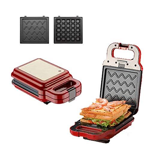 LIANGANAN Fabricante de panqueques Helado Cono de Cono Waffle Fabricante eléctrico Pan para Pastel de Pastel y Waffle Hierro sin Palo grie eléctrico para Desayuno, Almuerzo o bocadillos zhuang94