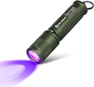 comprar comparacion OLIGHT I3UV Linterna UV 395nm Llavero de Luz Negra, LED Ultravioleta, Lámpara Pequeña,Detector de Orina para Manchas Secas...