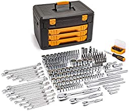 GEARWRENCH 243 Pc. 12 Point Mechanics Tool Set in 3 Drawer Storage Box - 80972