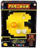 Pac Man-Man 38885 Bandai Connect & Play Konsole, 12 eingebaute Retro-Arcade-Spiele, Nylon/A -