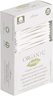 Organyc Beauty Cotton Buds (200), 200 count