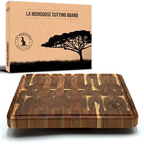 1' Acacia Cutting Board by La Mongoose