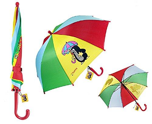 Rappa 480567 Kinderregenschirm Der Kleine Maulwurf Regenschirm für Kinder ab 4 Jahren