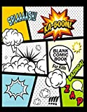 Blank Comic Book For Kids : Create Your Own Comics With This Comic Book Journal Notebook: Over 100 Pages Large...