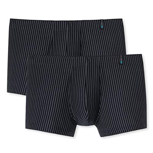 Schiesser Schiesser - Long Life Soft - Shorts Pants - 149047-2er Spar-Pack (4 Blauschwarz)