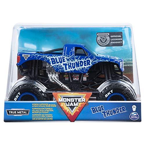 Monster Jam - Die Cast 1:24 Scale Truck - Blue Thunder