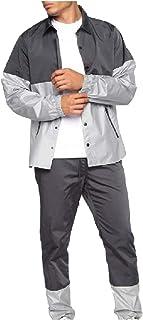 HEFASDM Mens Cardigan Outdoor Dinner Jacket & Pants Thin Jackets Pajamas