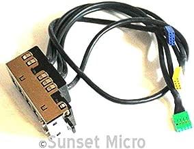HP Compaq 8000 Elite CMT PC USB / Audio I/O Panel 577792-001