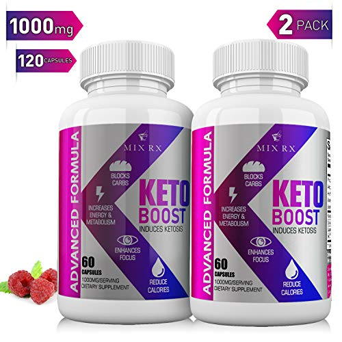 (2 Pack   120 Capsules) Keto Pills with Carb Supplement - Exogenous...