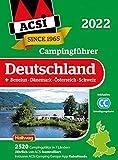 ACSI Campingführer Deutschland 2022: + Benelux-Dänemark-Österreich-Schweiz. Inkl. ACSI CampingCard Ermässigungskarte und ACSI Camping Europa-App Rabattcode