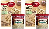 Betty Crocker Butter Pecan Cake Mix and Cream Cheese Frosting Bundle - 2 of Each