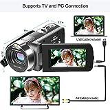 Cámara Video Cámara Videocámara 16X Zoom Digital Videocámara con 3.0'Cámara de Control Remoto LCD (Z6)