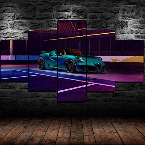 YQRX 5 stücke Leinwandmalerei Leinwand malerei HD Print Moderne Dekorative auf Wandkunst für Wohnkultur Wanddekor...