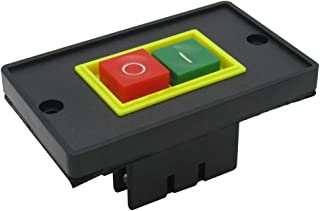 mxuteuk QCS1-I/O Push Button Switch On/Off Start Stop 10A AC 220V /380V,1 Year Warranty