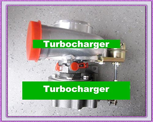 GOWE turbo for GT3076 GT30 turbo T25 C: A/R .70 T: A/R .86 wastegate water and oil cooled turbocharger turbo 350-480HP