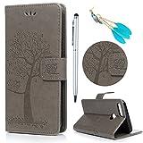 Lanveni Coque pour Huawei Honor 9 Lite Housse Étui à Rabat en [Cuir PU][Bookstyle] Wallet Cartes...