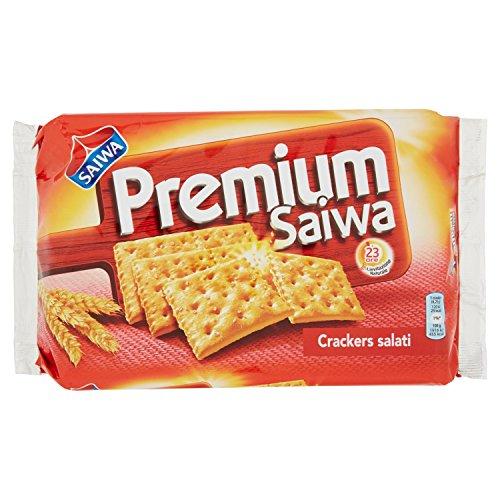 Premium - Saiwa, Crackers Salati - 315 g