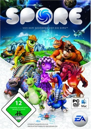Electronic Arts Spore, PC/Mac - Juego (PC/Mac, 6000 MB, 512 MB, 2.0 GHz, 128 MB)