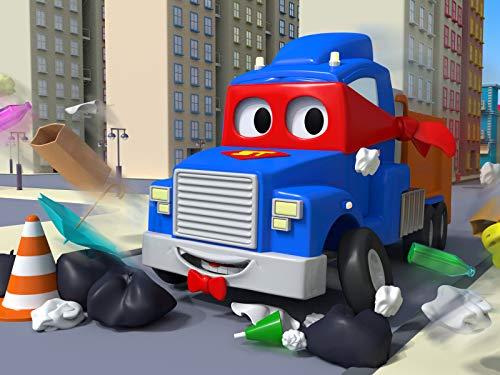 Müllwagen / Der Krankenlastwagen / Der Hebebühnen Lastwagen / Der Magnetkran Lastwagen
