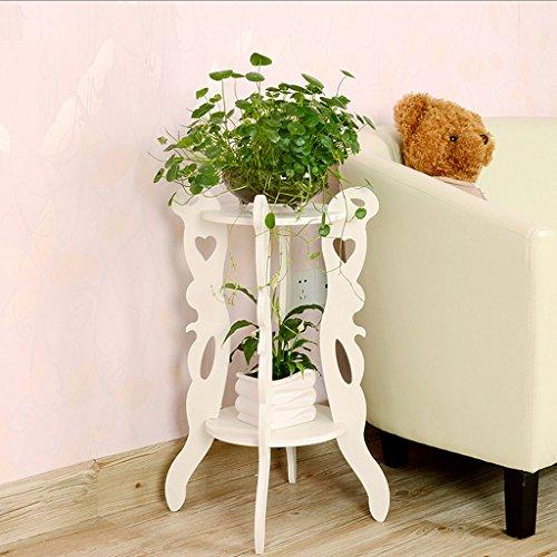 CHX Fleur Étagère Garde-corps Windowsill Blanc Intérieur Type de plancher Multifonctionnel Plante Fleur Rack