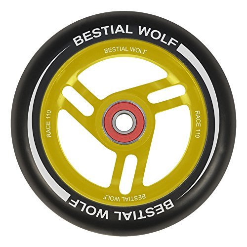 Bestial Wolf Race Rad voor Scooter Freestyle, diameter 110 mm