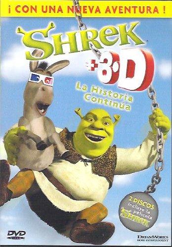 Shrek 1.5 + 3d la historia continua (DVD)