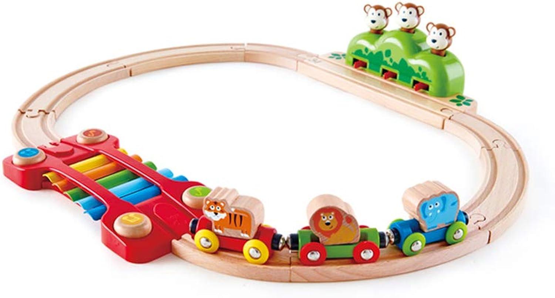 salida HXGL-juguete de coche Train Track Jungle Music Set Juguetes Juguetes Juguetes Educativos para Niños Madera Lujo (Tamaño   Metro)  directo de fábrica