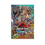EWYU T Shirt Jurassic Park Poster dekorative Malerei