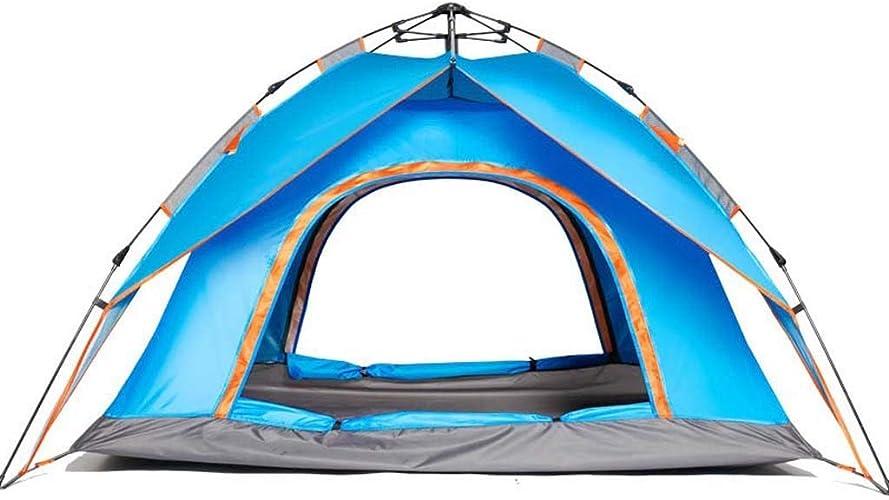 MEIEI Tente de Camping en Montagne, 3-4 Personnes Tente de Camping en Plein air Tente de Camping en Plein air Double Porte Double Porte Tente de Camping Ouverte