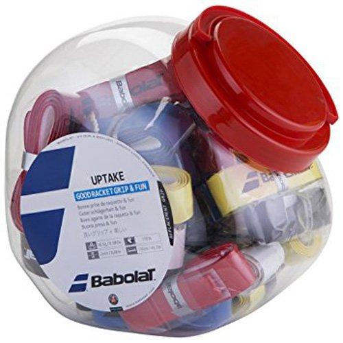 Babolat Uptake Grip 30-delige doos op kleur gesorteerd basisgreepbanden, meerkleurig, één maat
