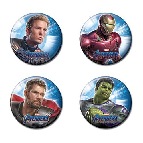 Ata-Boy Marvel Comics Avengers End Game Assortment #1 Set of 4 1.25'...
